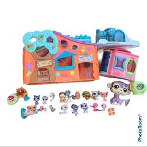 Littlest Pet Shop Clubhouse, Igloo, Pets, & More